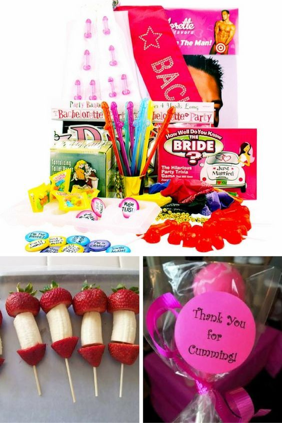 Bachelorette Party Ideas Kit With Attire Candy Straws Decorationore Snacks