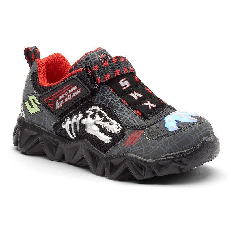 6f4538f3786c Skechers Hot Lights Datarox Extinct Boys  Light-Up Shoes