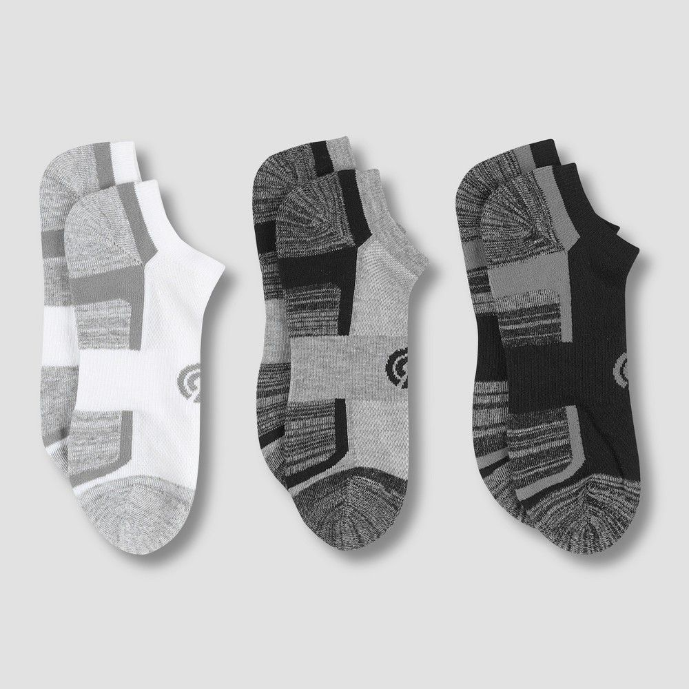 9a19524fc46 Men s Training No Show Athletic Socks 3pk - C9 Champion 6-12 Size  One  Size. Color  Multi-Colored. Gender  Male. Age Group  Adult. Pattern  Solid.