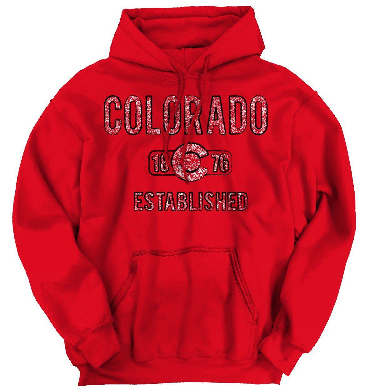 d398739da6 Colorado State Logo Hoodie in 2019   Clothes   Hoodies, Eagle shirts ...