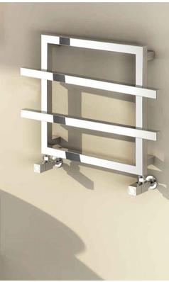Reina Lago Designer Steel Heated Towel Rail 450 X 600mm In 2020 Heated Towel Rail Towel Radiator Towel Rail