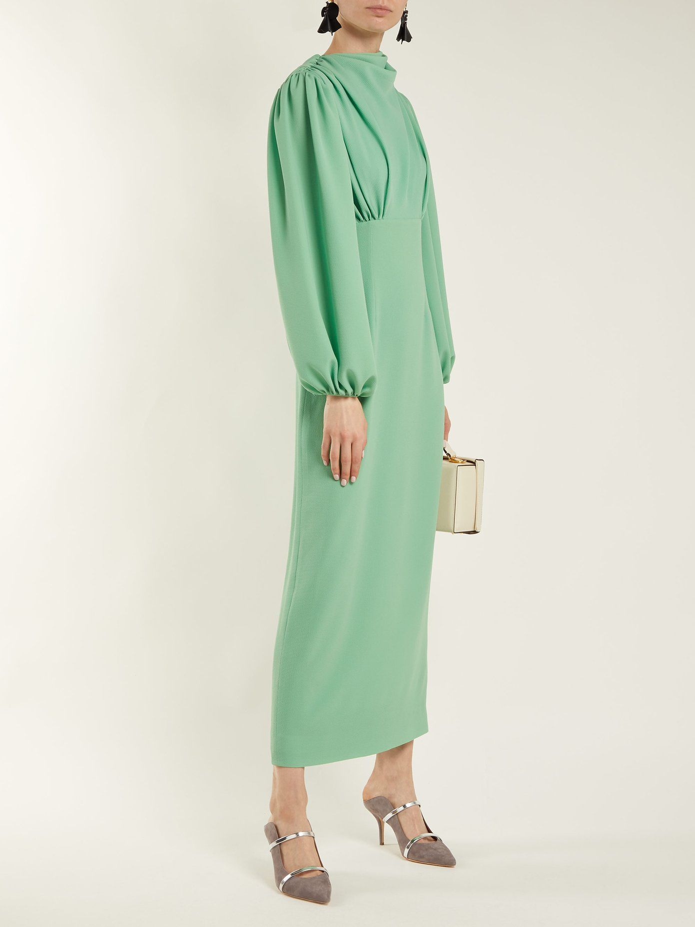 Niamh stretch-crepe pencil dress Emilia Wickstead Official For Sale Cheap Sale Nicekicks kOcR1