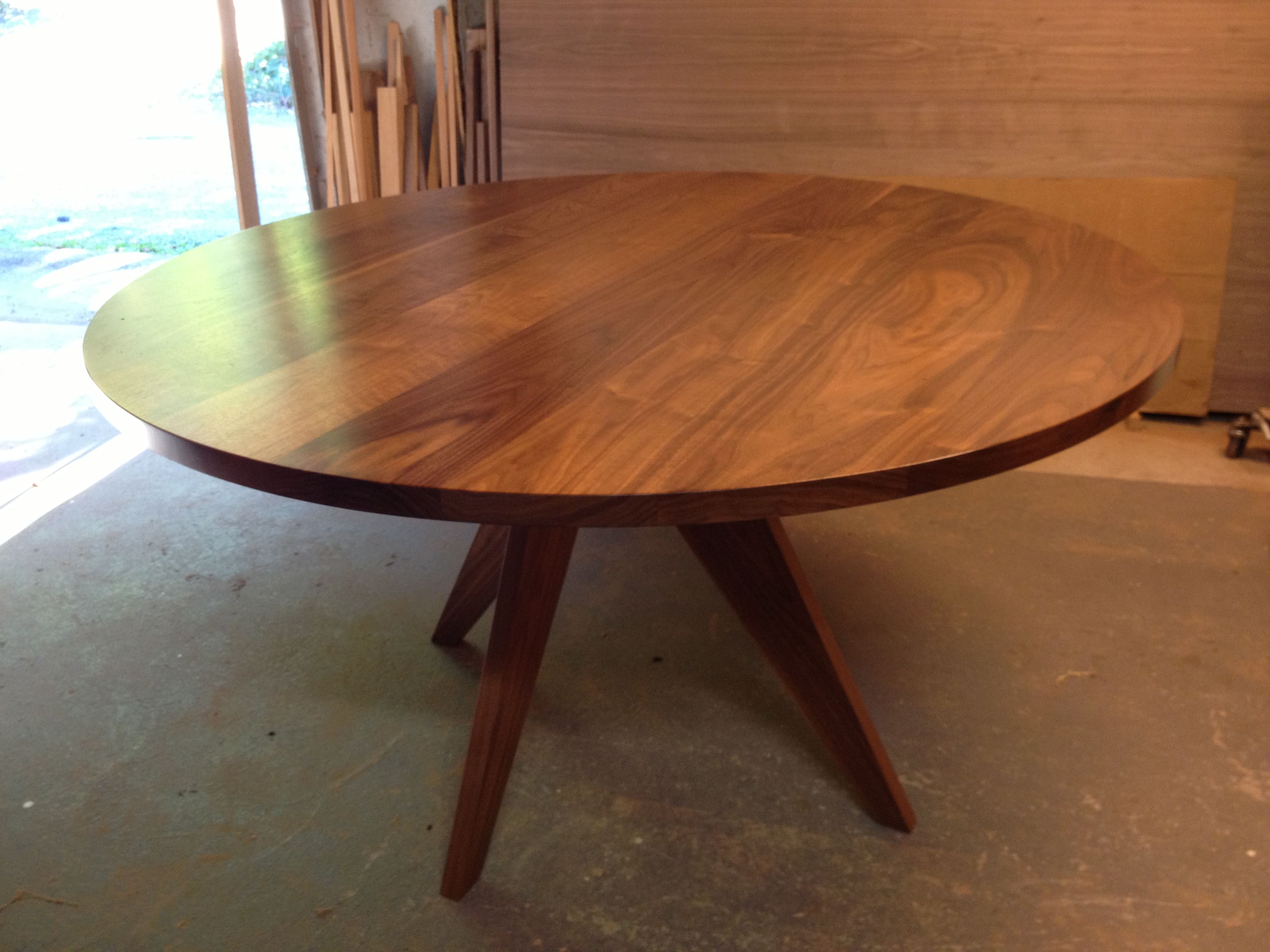 Round Walnut Dining Table Need To Get A Quote Round Wood