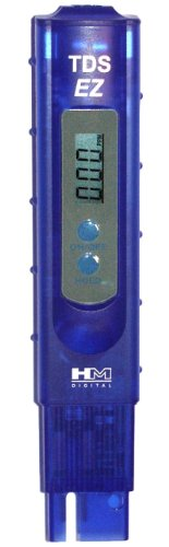 Hm Digital Tds Ez Water Quality Tds Tester 0 9990 Ppm Measurement Range 1 Ppm Resolution 3 Readout Accuracy Water Quality Ez Water Hydroponic Supplies