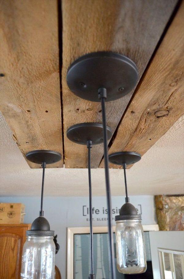 DIY Mason Jar Kitchen Lighting | EASY DIY and CRAFTS | DIY Home ...
