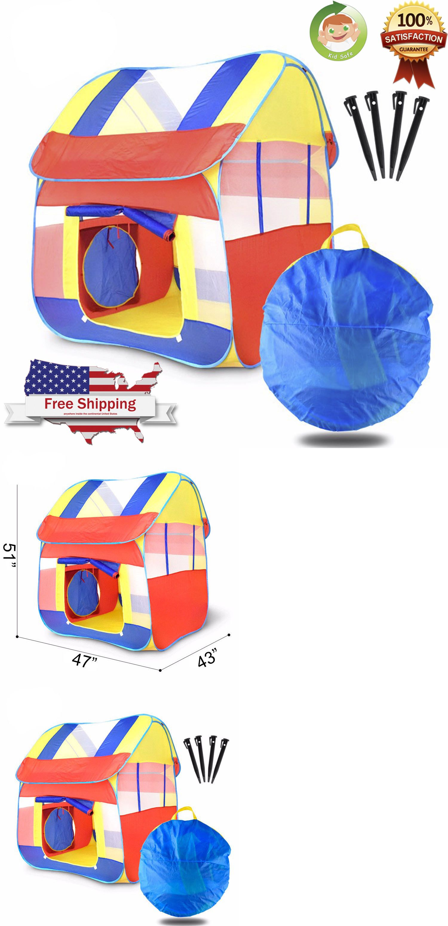 Tents Tunnels and Playhuts 145994 Portable Kid Baby Play House Indoor Outdoor Toy Tent Game Playhut Pop Up Tent -u003e BUY IT NOW ONLY $20.99 on #eBay #tents ...  sc 1 st  Pinterest & Tents Tunnels and Playhuts 145994: Portable Kid Baby Play House ...