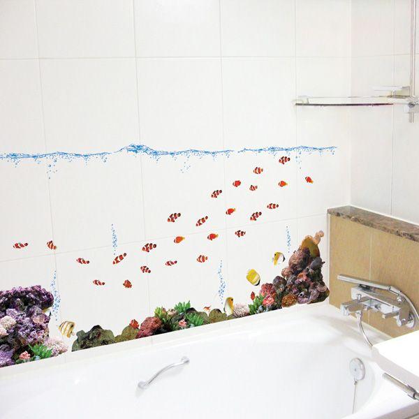 Clown Fish - Childrens Wall Sticker