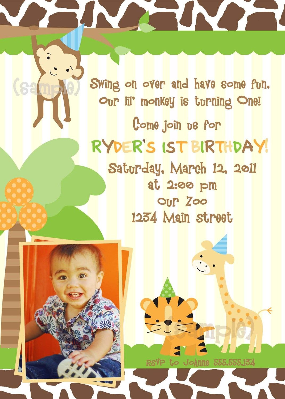 Cute saying on invite. Safari theme party, Birthday