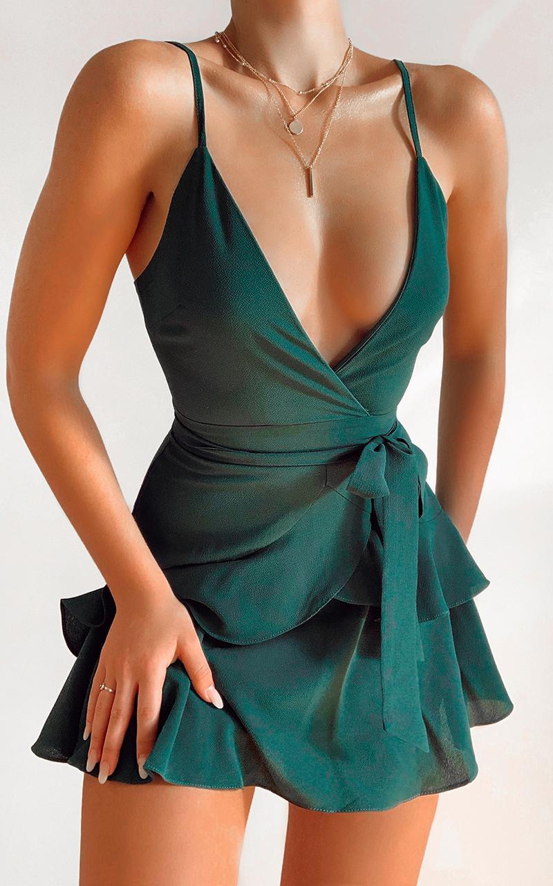 Feels Like Love Dress in Forest Green | Showpo – fashion art