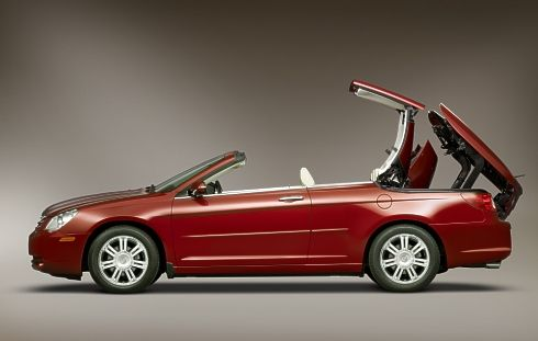 Finally drove a convertible, Chrysler 200 hard top.
