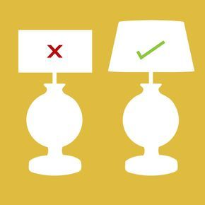 How To Measure A Lamp Shade How To Measure Your Lampshade  Oka  Lighting  Pinterest  Lamp