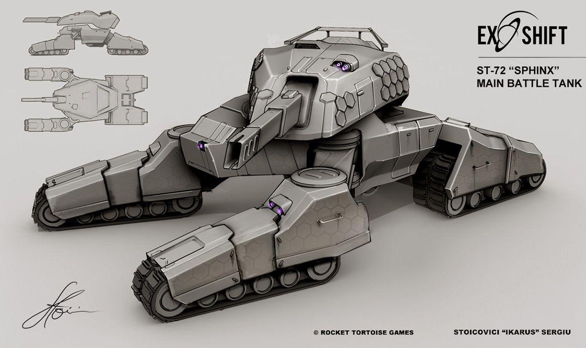 concept tanks concept tank by sergiu stoicovici robot