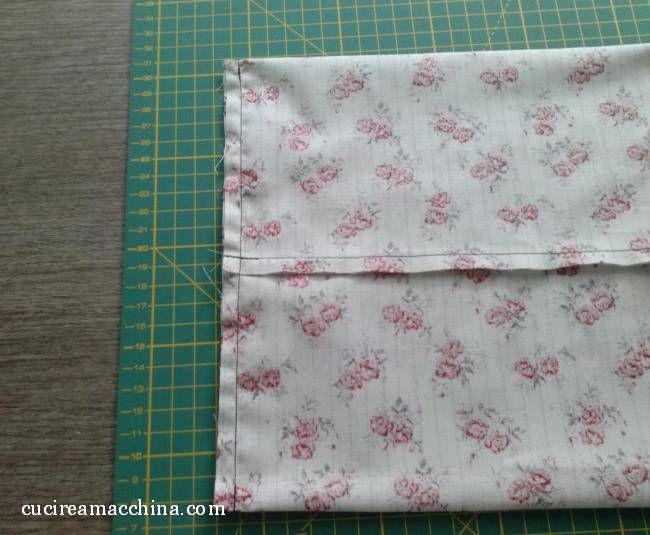 Un facilissimo tutorial di cucito creativo su come creare un sacchetto di stoffa milleusi con - Cucito creativo bagno ...
