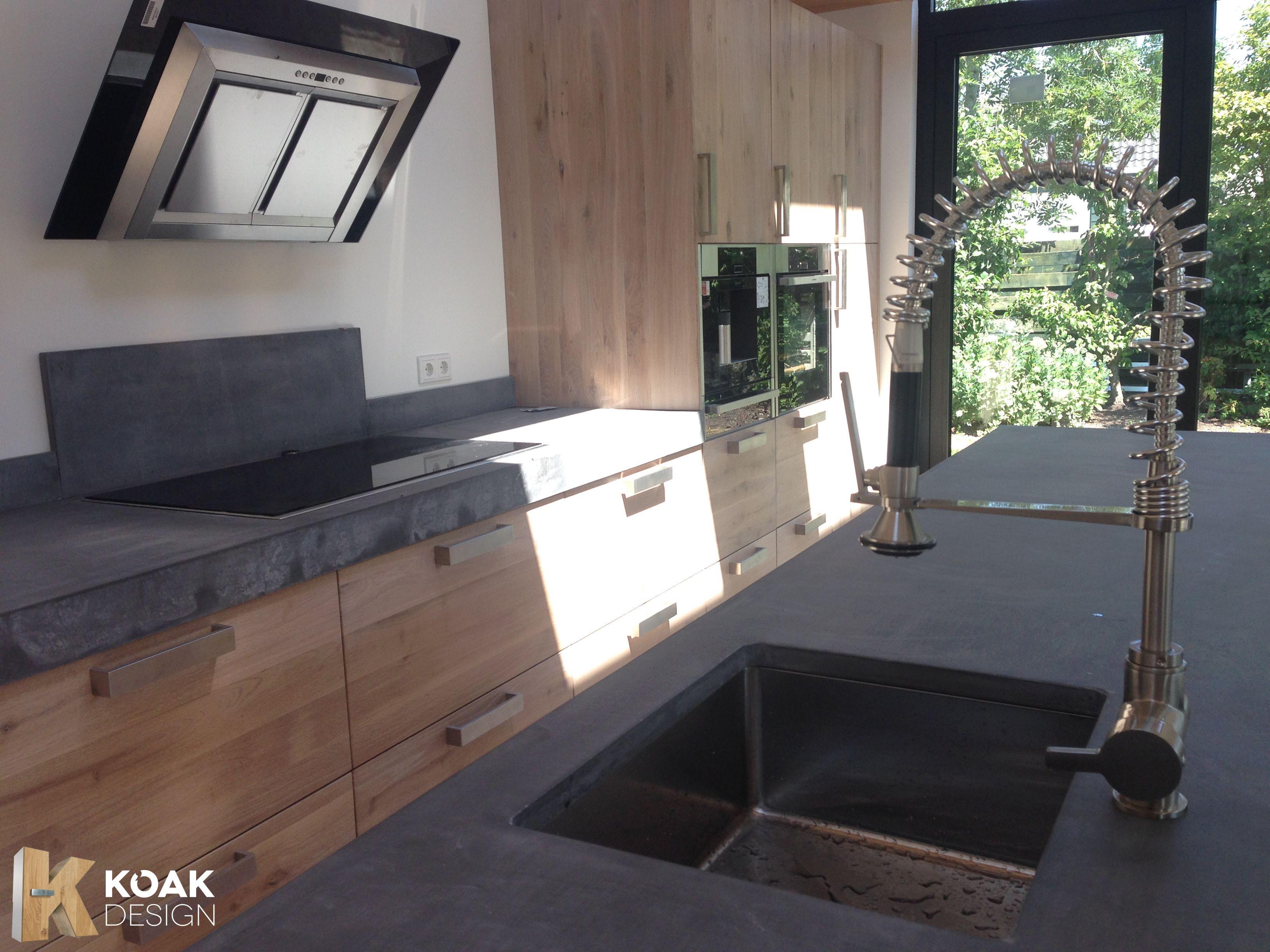 www.koakdesign.com KOAK DESIGN IKEA KEUKEN Real Oak wooden doors ...