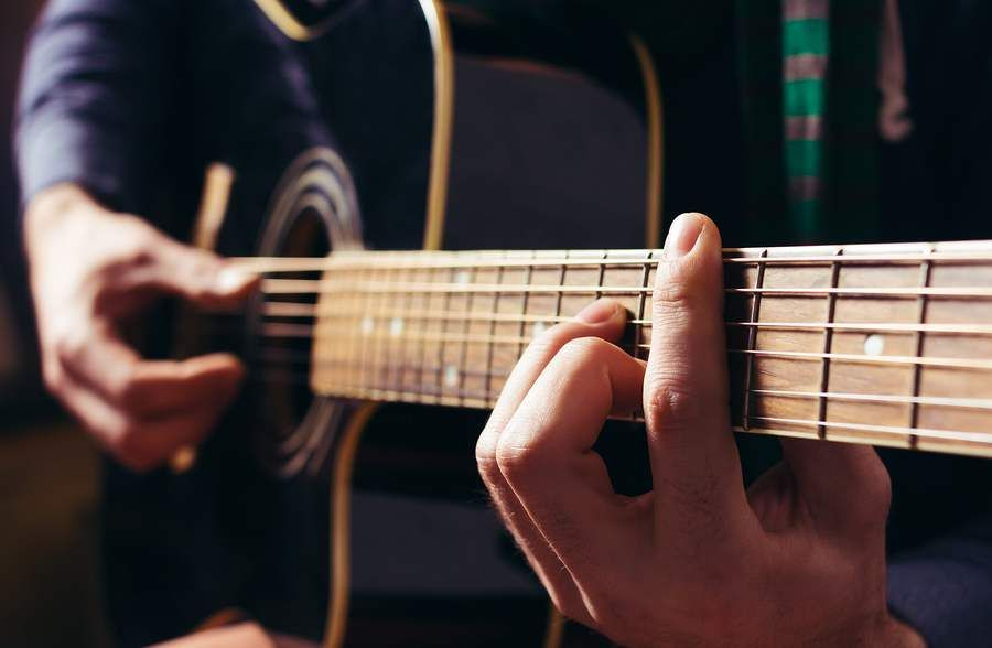Exercises to improve barre chords on guitar...this is actually a ...