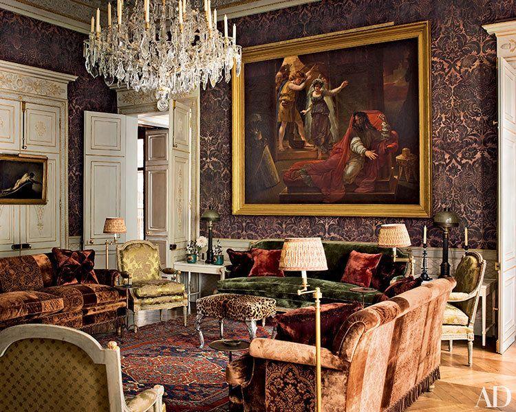 See how pierre berg transformed the enchanting top floor for Interni case francesi