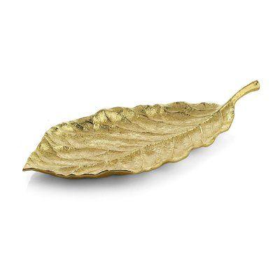 Michael Aram New Leaves Magnolia Medium Platter