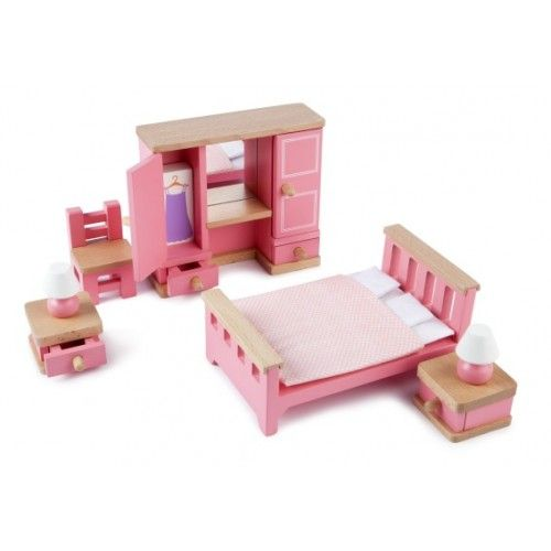 Toy · Tidlo Bedroom Dolls House Furniture ...
