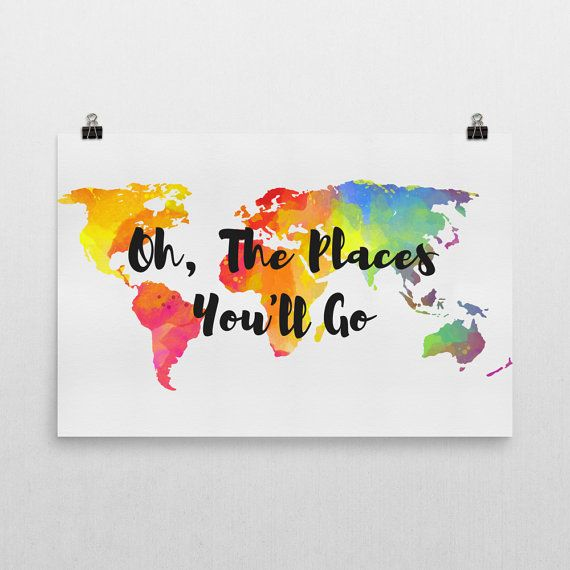 Oh the places youll go wall art oh the places you will go