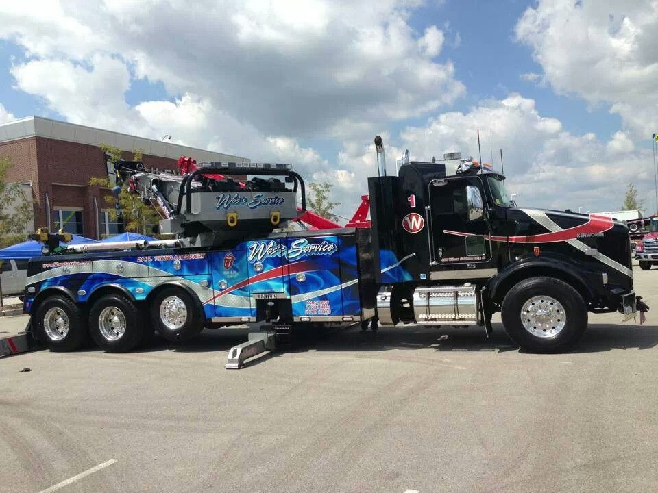 Worksheet. Wess service Calumet City IL Kenworth with Miller rotator