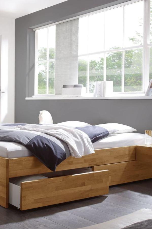 die schubkasten liege manchester aus massiver geolter kernbuche verleihen sie ihrem schlafzimmer einen