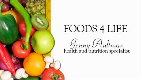 Modern and fresh raw foods for life health and nutrition specialist modern and fresh raw foods for life health and nutrition specialist business cards http reheart Image collections
