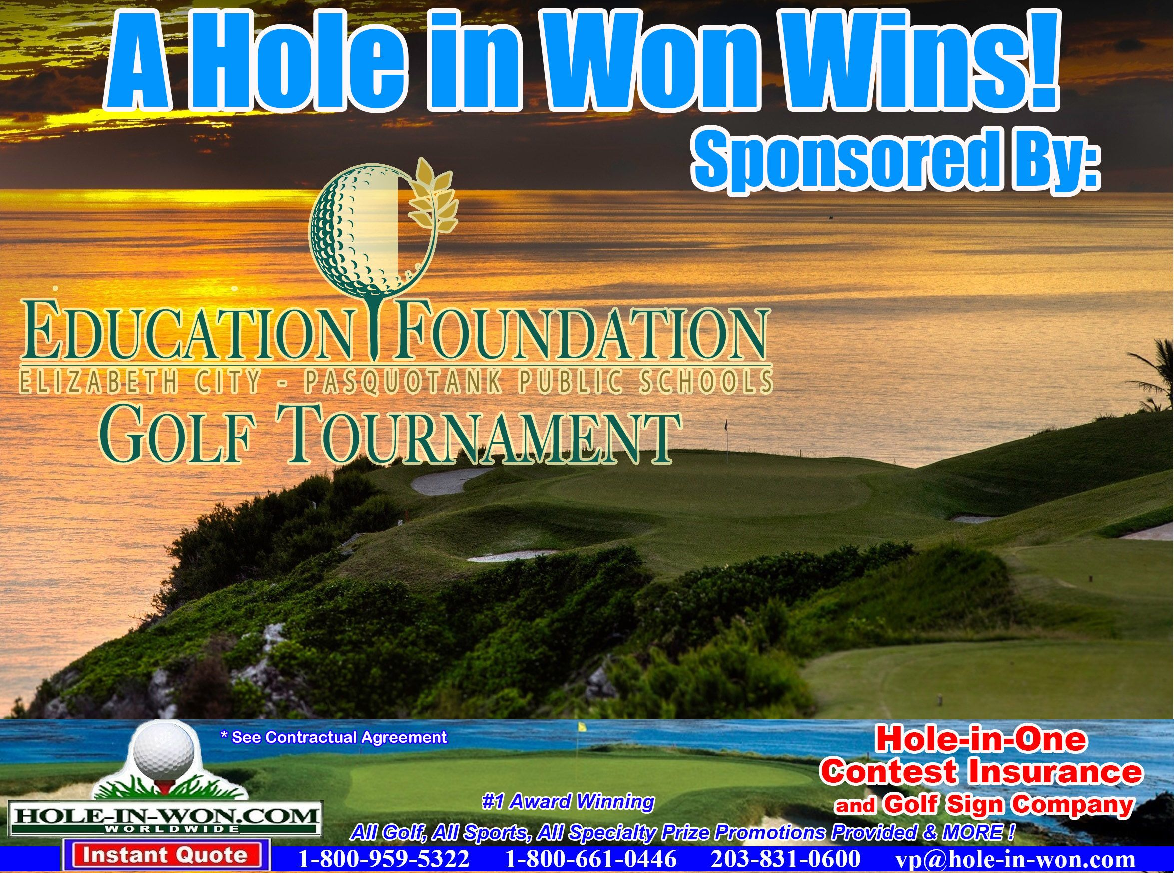 Alumni School Benefit Golf Outings Hole In One Insurance Putting