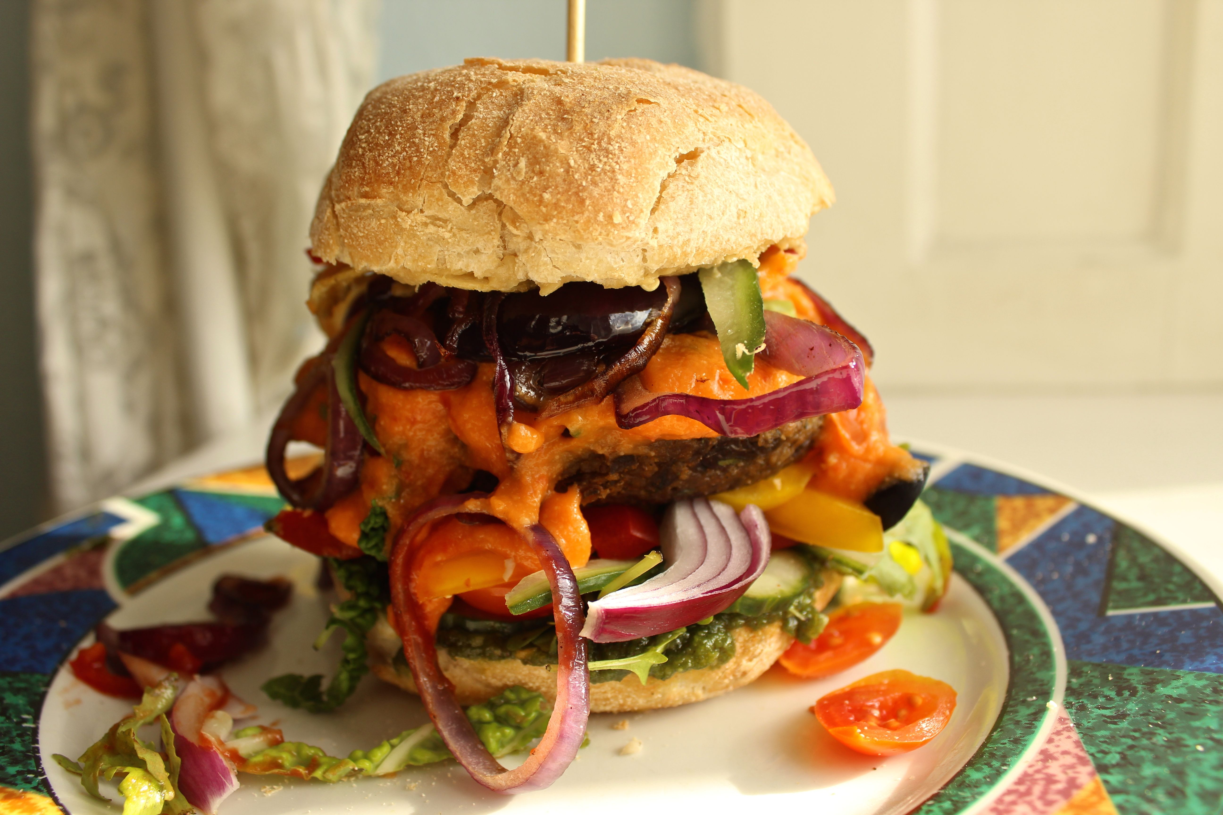 Scooby Doo Burger vegan epic Vegan Burgers Pinterest