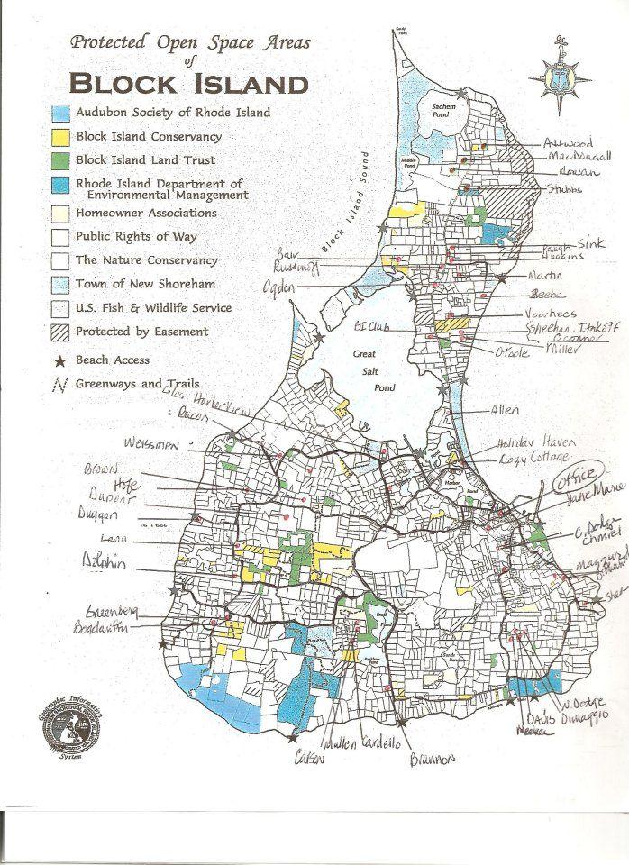 Map Of Block Island block island street map | block party! | Block island, Block