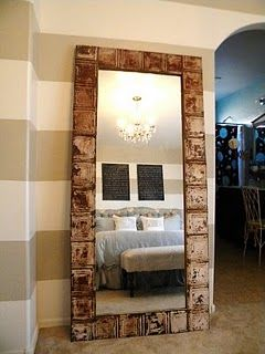 Lovely How to Frame A Large Mirror