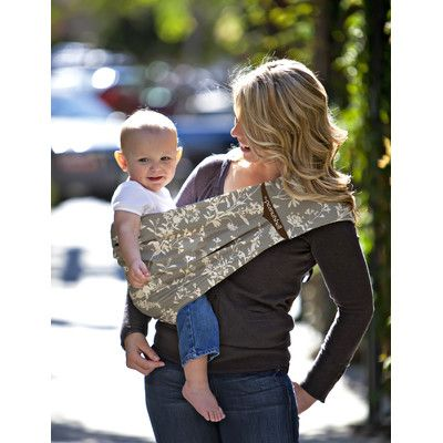The Peanut Shell Baby Carrier Sling Whi The Peanut Shell Whi