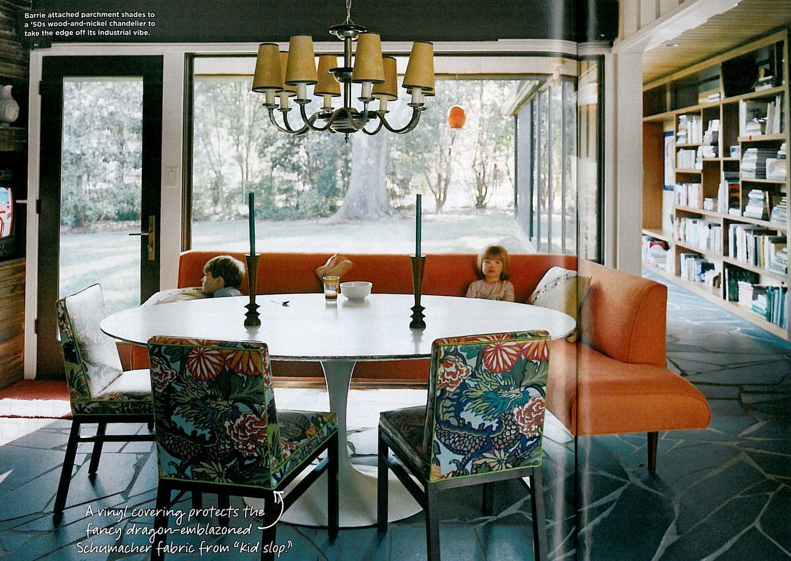 Ordinaire Always Liked This Home Tour (designer Barrie Benson, Charlotte, NC) In  Domino Mag (circa 2007). Love The Chiang Mai Dragon Fabric By Schumacher.