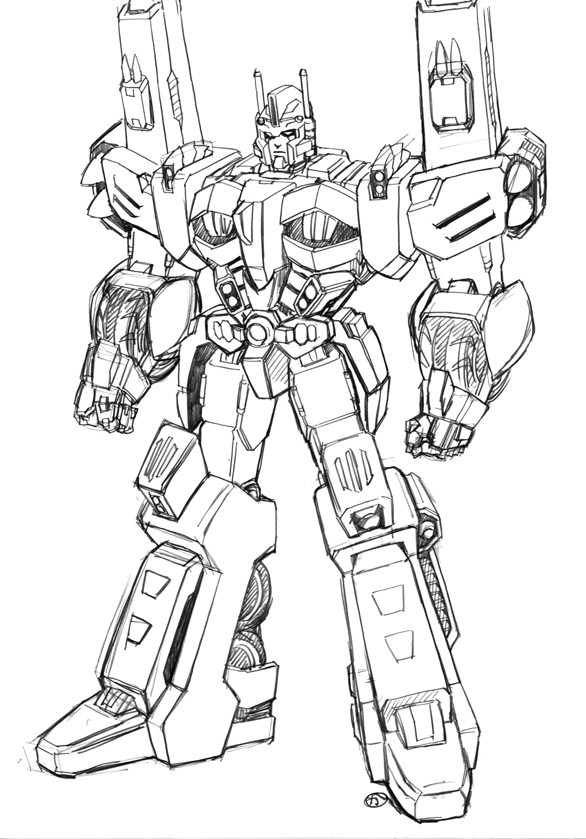 Ultra Magnus | Citizens of Cybertron. | Transformers, Transformers ...