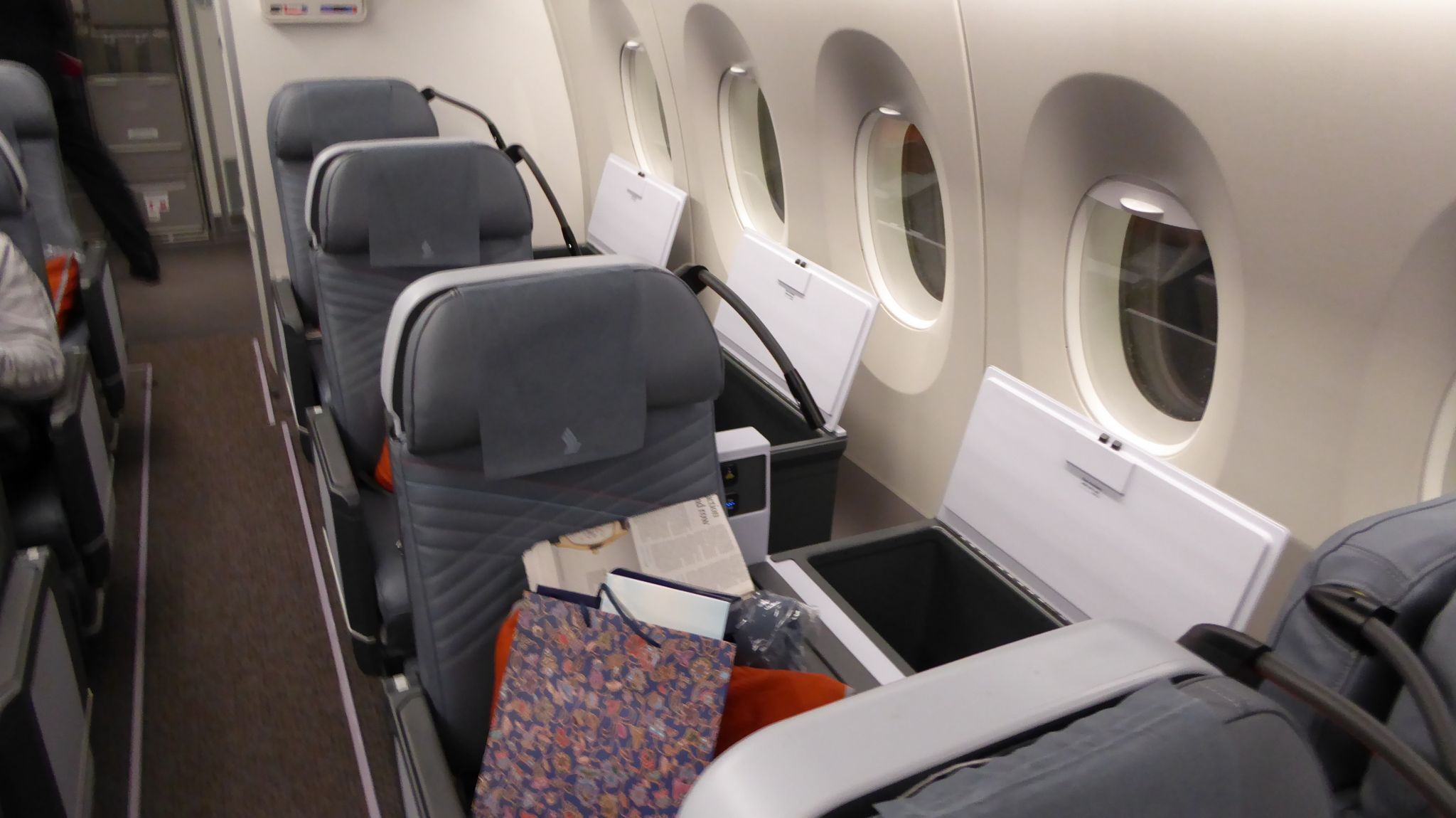 Review: Singapore Airlines premium economy, A350 from SFO