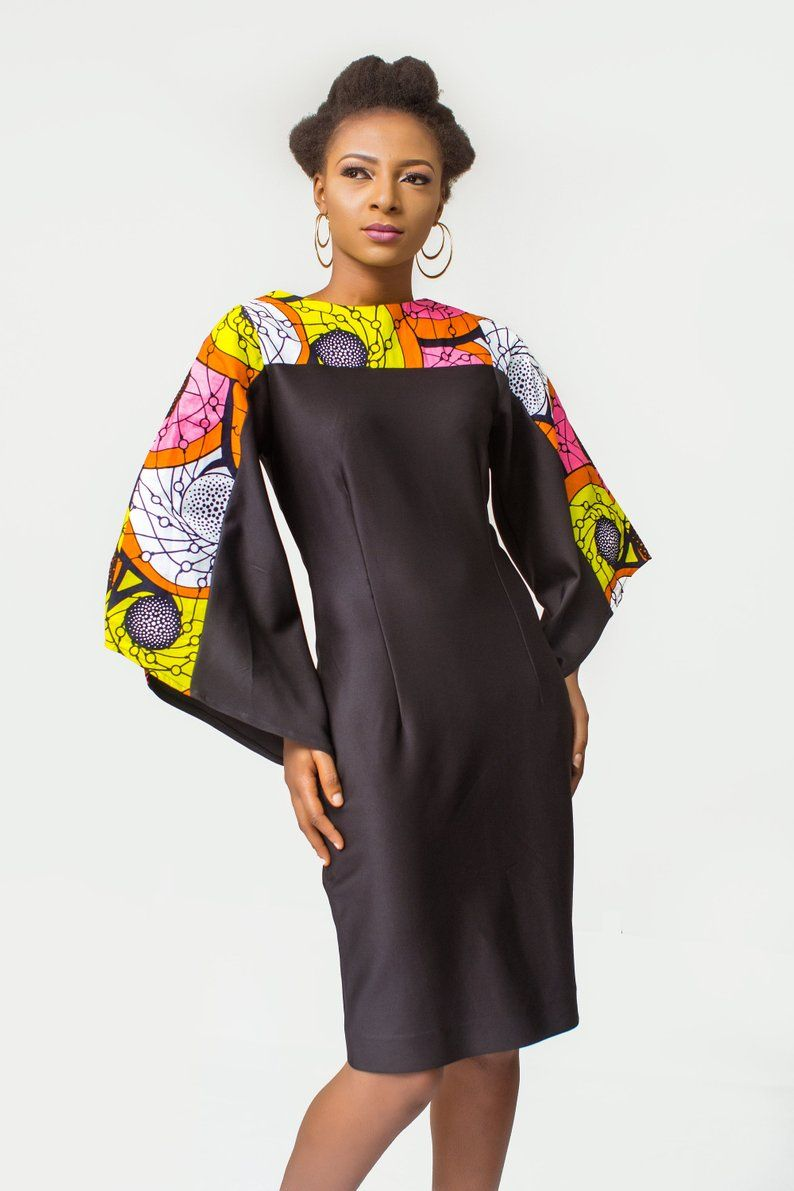 African Print Dress, Ankara Dress, African Womens Clothing, African Womens Dress, African Dress, African Clothing for Women, Sheath Dress