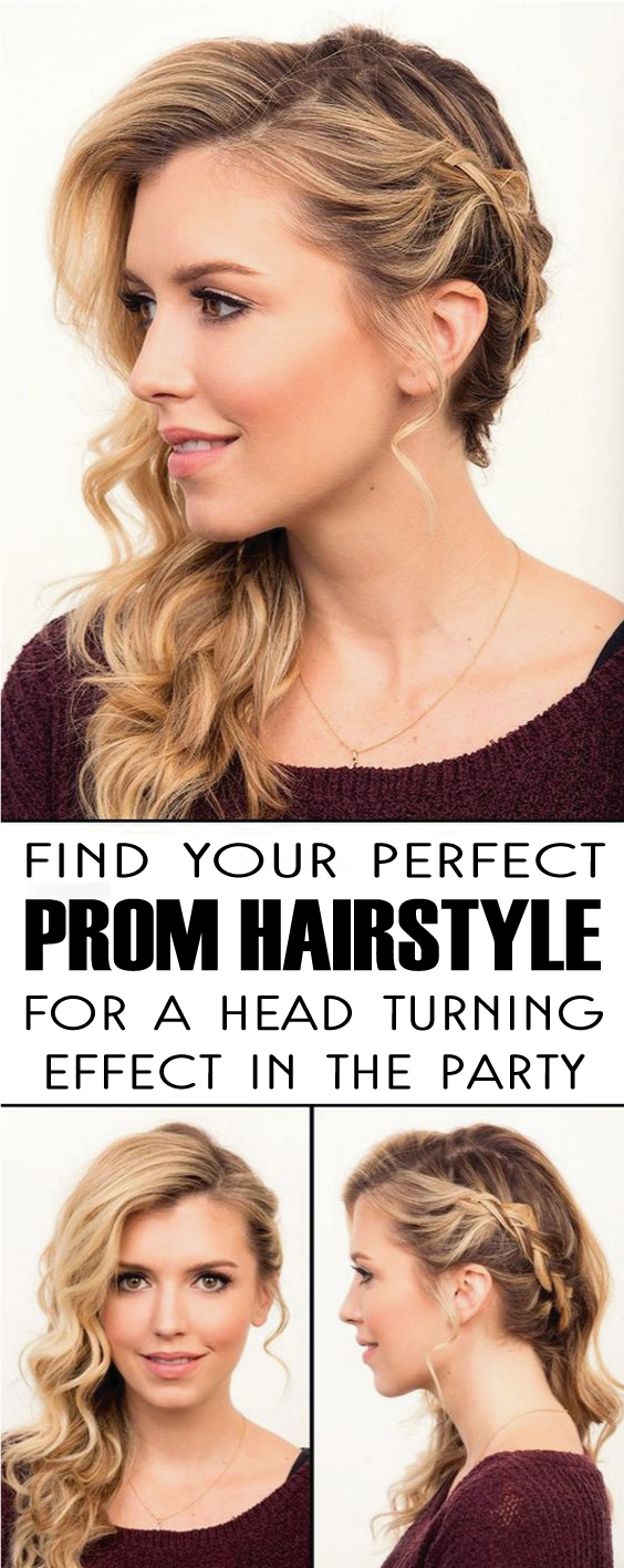 Make Your Own Hairstyle Simple Find Your Perfect Prom Hairstyle For A Head Turning Effect In The