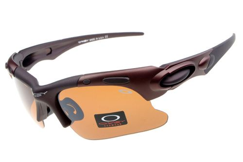 Oakley Fast Jacket Semi-Rimless Chocolate CWZ