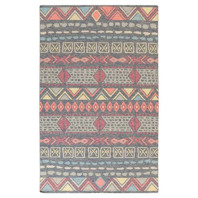 Clair Southwestern Gray Area Rug Area Rugs Rugs Wool Area Rugs
