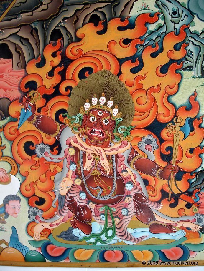Tibetan Fire Art Tibetan-art-003 | Tibetan Art in 2019
