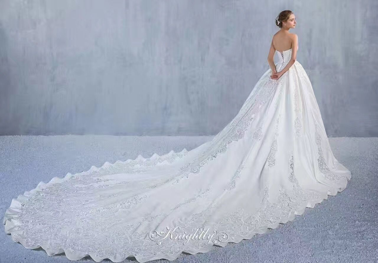 Other Knightly Royal Wedding Gown with Long Train 20   Royal ...