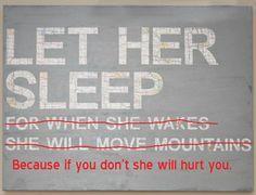 Said every night shift nurse.