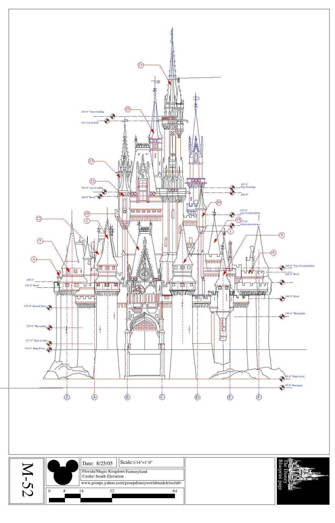 Disney imagineering disney land world pinterest for Florida blueprint