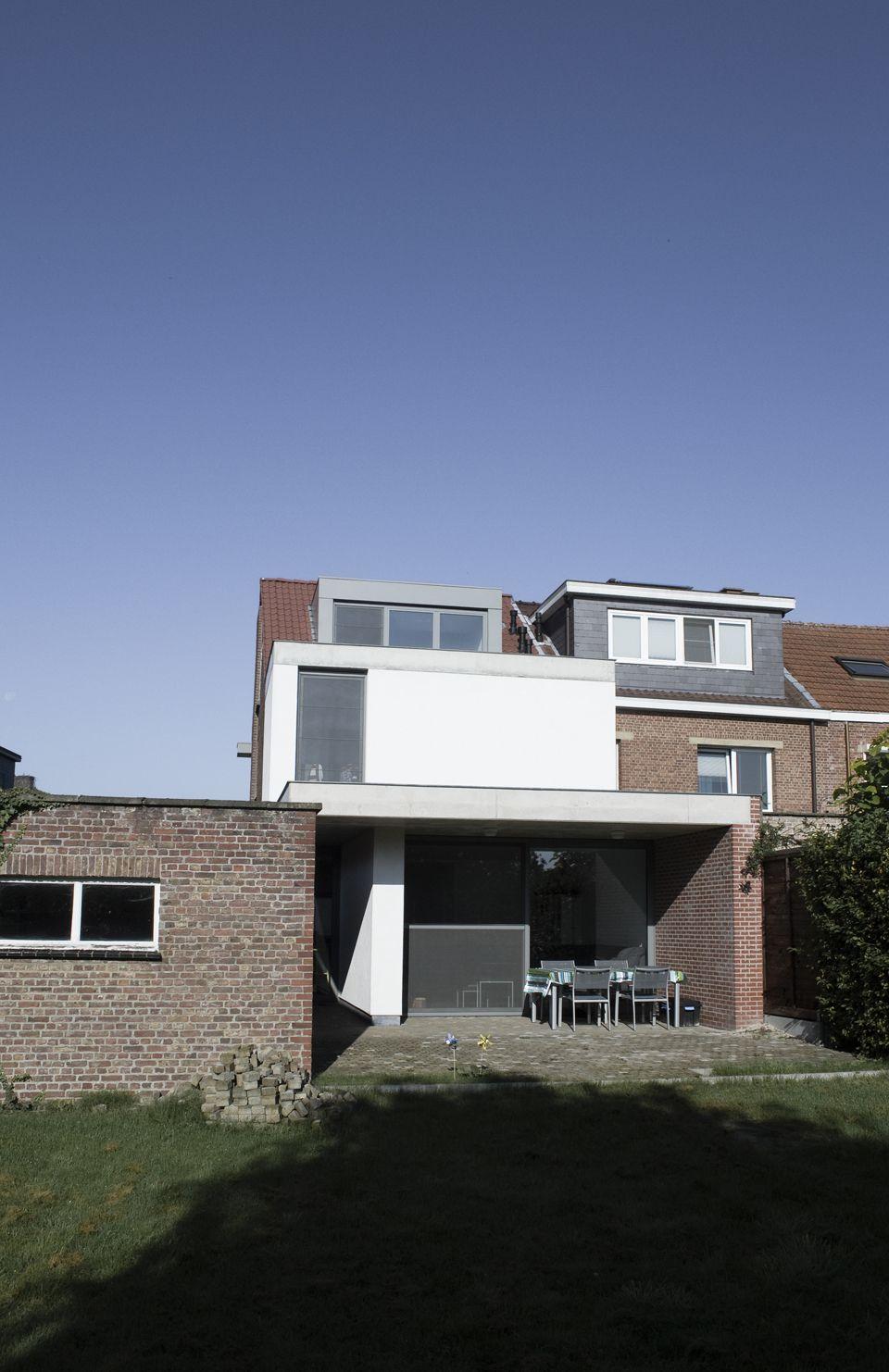 Extension of a house in Schoten (BE) -- TRAJEKT architectengroep bvba