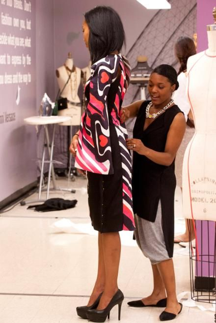Project Runway Season 12 Dom Streater Episode 11 Photos