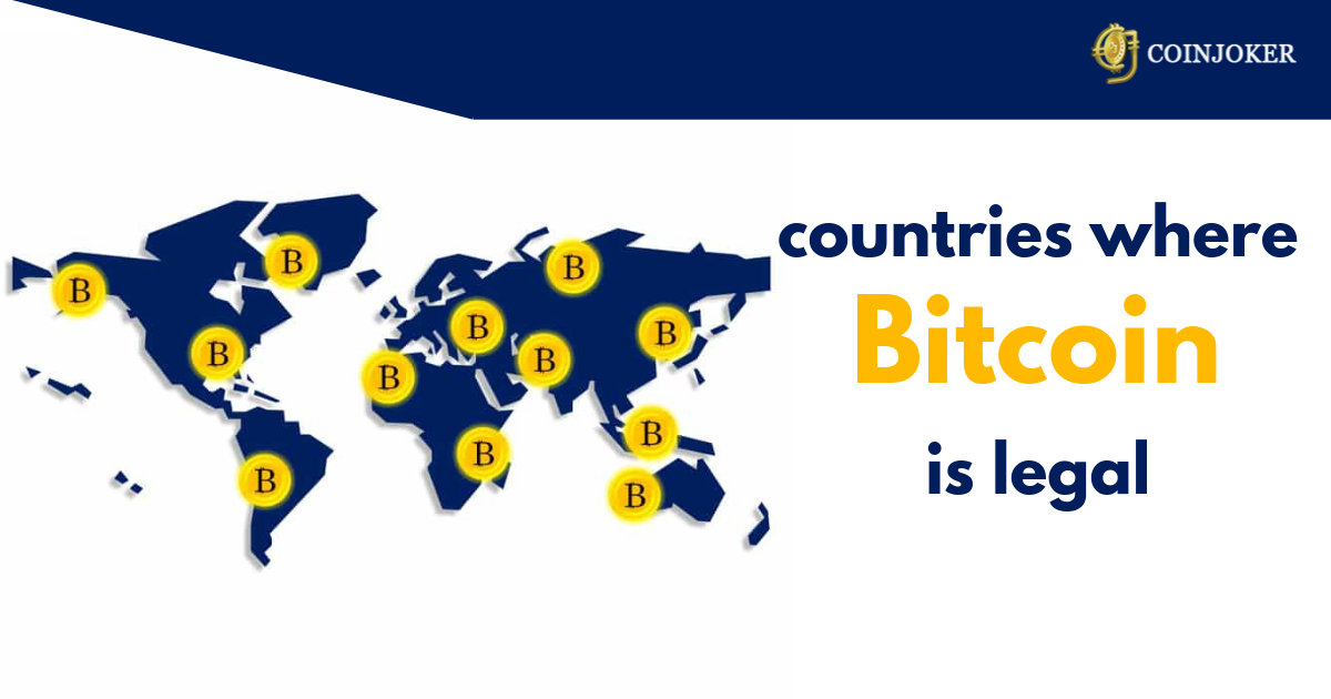bitcoin legal countries list