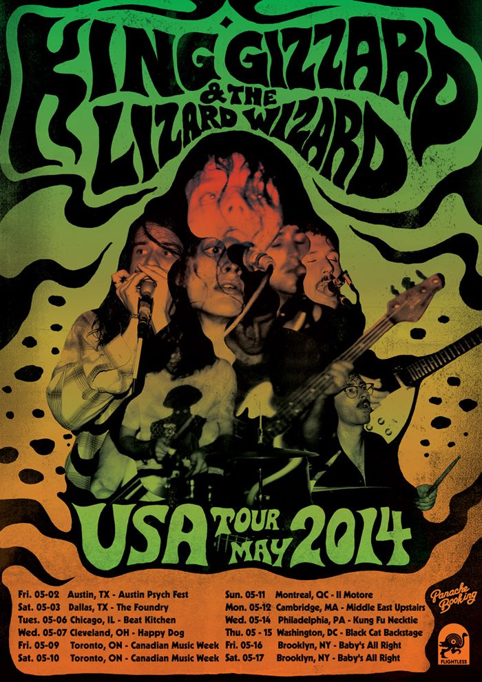 King Gizzard Amp The Lizard Wizard Poster Google Search