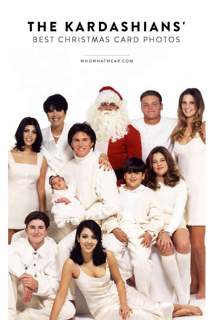 We never want to forget these Kardashian family Christmas card photos