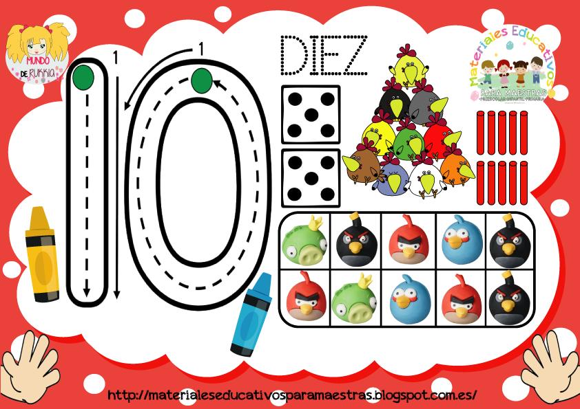 Fichas De Números Plantillas De Conteo Para Plastilina De Cuentos Infantiles Fichas Juegos Matematicos Para Niños Niños De Preescolar