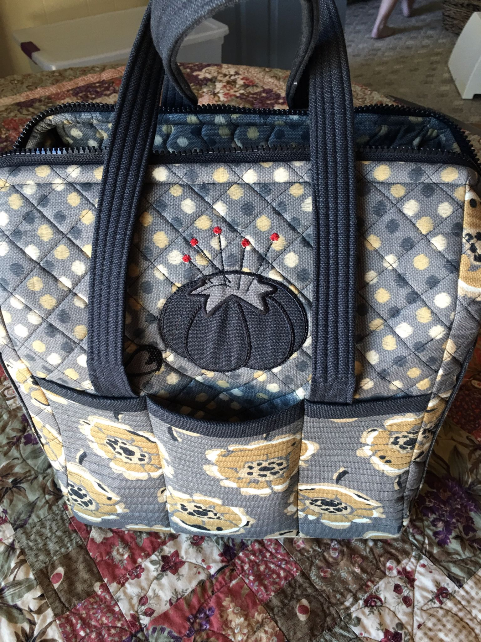Ps056 The Boxy Tote by Penny Sturges for Quiltsillustrated Designed ...