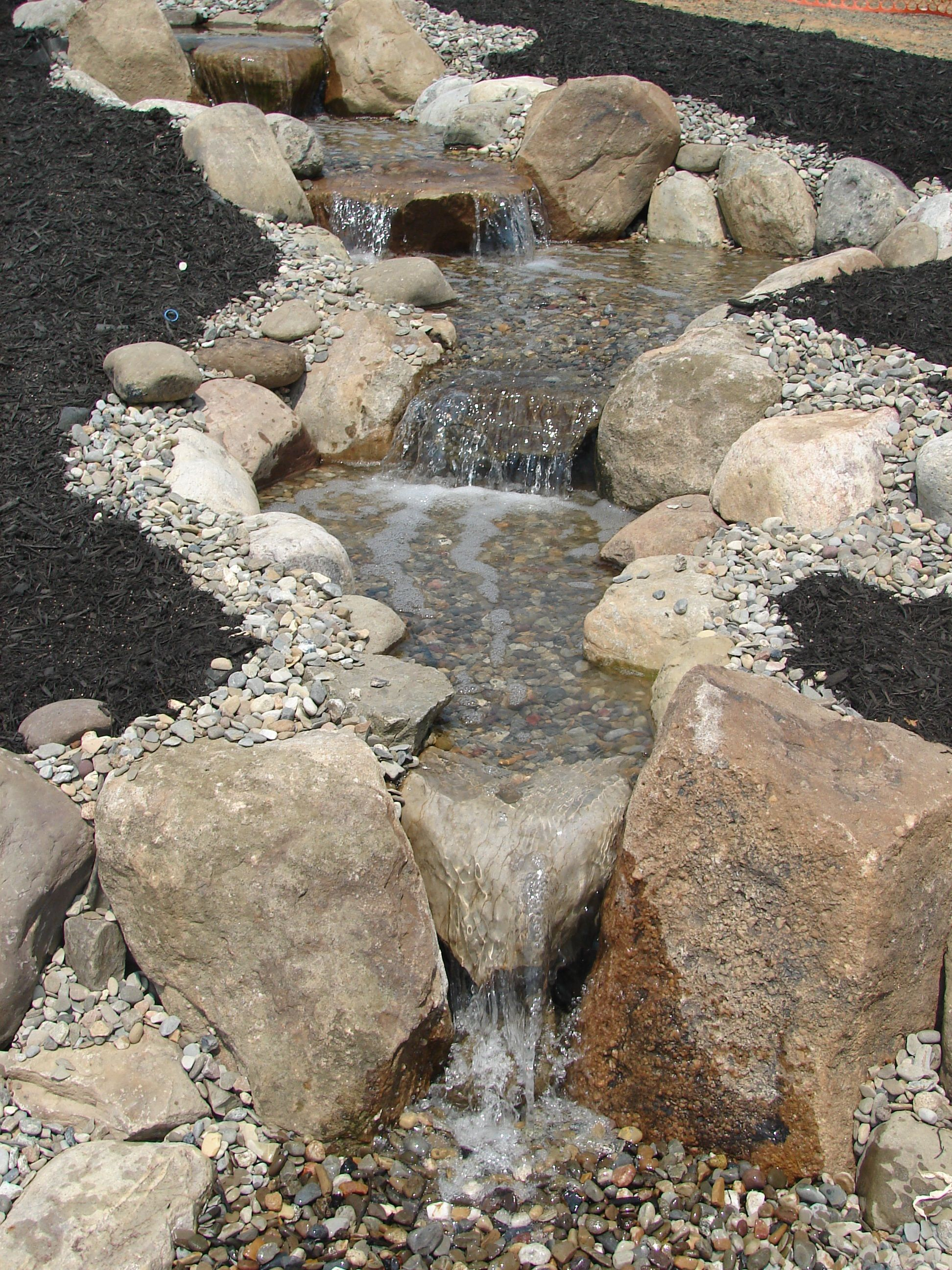 Pondless Water Feature by Private Paradise in York #waterfeatures
